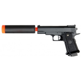 UK Arms G10A ABS Plastic Airsoft Spring Pistol - BLACK