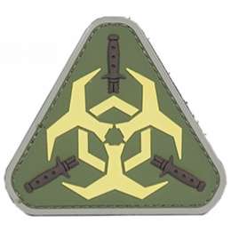 Airsoft Outbreak Response PVC Patch - OD GREEN