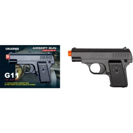 UKARMS G11M Airsoft Guns w/Front and Rear Aiming Sight