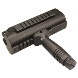 ICS MX5-A Tactical Handguards w/Vertical Grip - BLACK