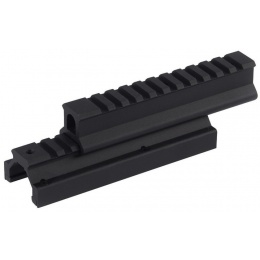 ICS High Low Airsoft Rail Systems Mount - BLACK