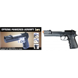 HFC  Airsoft M9 Spring Pistol Elite Special Forces Replica - BLACK