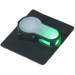 FMA Airsoft S-Lite Tactical Safety light w/Green LED - BLACK