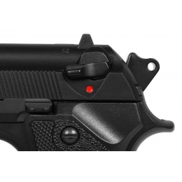 350 FPS KJW SIG3 M9 Vertec Railed Frame Gas Blowback Airsoft Pistol