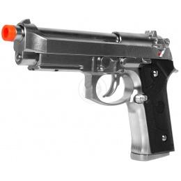 KJW SIG3 M9 Vertec GBB Gas Blowback Airsoft Pistol - SILVER