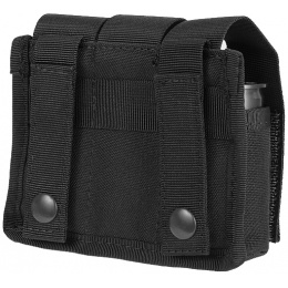 Lancer Tactical Airsoft Triple Grenade Pouch w/ MOLLE Straps -  BLACK