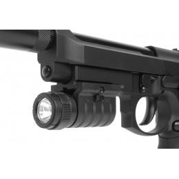 KJW SIG3 M9 SOCOM Gas Blowback Airsoft Pistol w/ Mock Suppressor