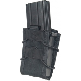 Lancer Tactical Airsoft CA-385B Single MOLLE Magazine Pouches - BLACK