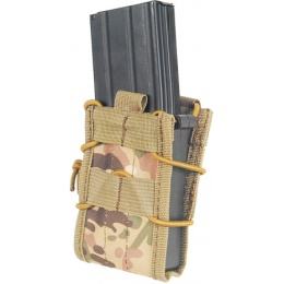 Lancer Tactical Airsoft CA-385C Single MOLLE Magazine Pouches - CAMO