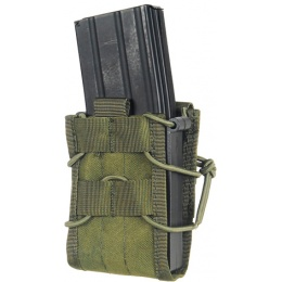 Lancer Tactical Airsoft CA-385C Single MOLLE Magazine Pouches - OD GREEN