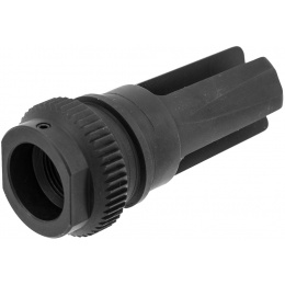 PTS Syndicate Airsoft 51T 14mm CW Flash Hider - BLACK