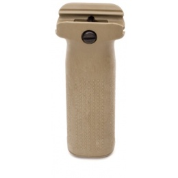 PTS Syndicate Airsoft Enhanced Polymer Vertical Foregrip - TAN