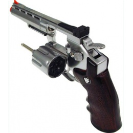 WG M701 Special Combat Airsoft CO2 Revolver Pistol - SILVER