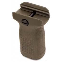 PTS Syndicate Airsoft Enhanced Polymer Vertical Foregrip - SHORT - OD