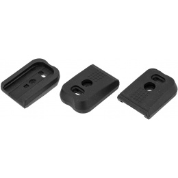 PTS Syndicate Airsoft Enhanced Shockplate for Glock Style Pistols - 3 Pack