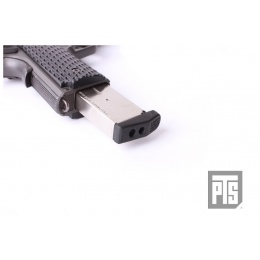 PTS Airsoft 1911 Pistol Shockplate Magazine Upgrade - BLACK