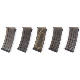 PTS Airsoft AK Polymer Magazine Five Box Set AK Series