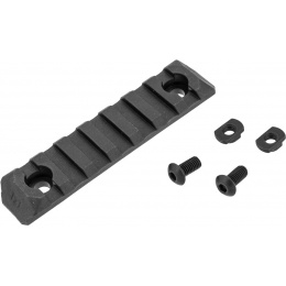 PTS Syndicate Airsoft Enhanced 7-Slot ERS M-LOK Rail Section - BLACK