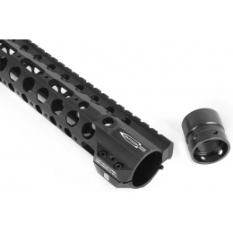 PTS Syndicate Airsoft 12-inch Rail System Free Float Centurion Arms CMR