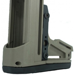 PTS Syndicate Airsoft Ergo F93 Pro Stock w/ Pad For AEG Buffer Tubes - TAN