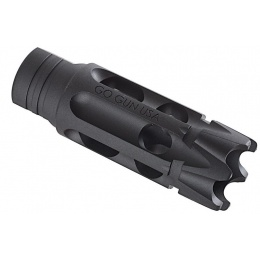 PTS Airsoft Gogun Heat Treated Talon Flash Hider - BLACK