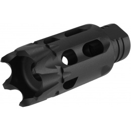 PTS Syndicate Airsoft GoGun SuperComp Talon Flash Hider - 14mm - CCW