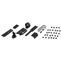 PTS Airsoft Modular Unity Tactical Fusion Set - BLACK