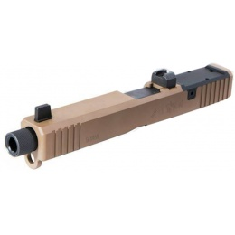 PTS Syndicate Airsoft Unity Tactical Atom Slide TM - DARK EARTH