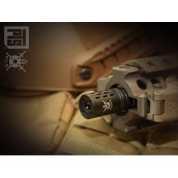 PTS Syndicate Battle Comp 1.0 14mm CW Flash Hider - BLACK