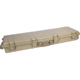Classic Army Airsoft E044-T Durable Wheeled Gun Case - TAN