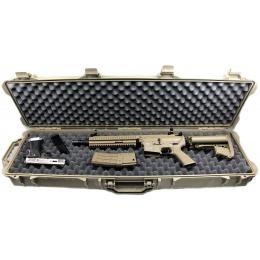 Classic Army Airsoft E044-T Durable Wheeled Gun Case - TAN