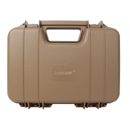 Classic Army Airsoft E096-T Durable Pistol Gun Case - TAN