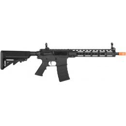 Classic Army Airsoft KM12 Skirmish Line M4 AEG Rifle - BLACK