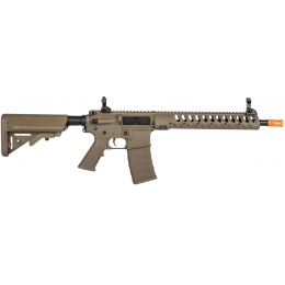 Classic Army Airsoft Delta 12 Skirmish Line M4 AEG Rifle - DARK EARTH
