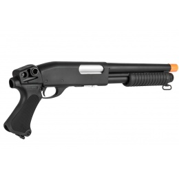 Classic Army Airsoft CA870 Breacher Spring Shotgun - BLACK