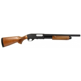Classic Army Airsoft CA870 Police Spring Shotgun - REAL WOOD