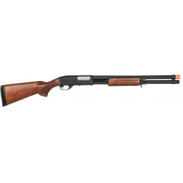 Classic Army Airsoft CA870 Tactical Spring Shotgun - WOOD