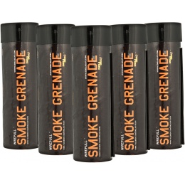 Enola Gaye Airsoft Wire Pull Tactical Smoke Grenade WP40 - ORANGE - PACK OF 5