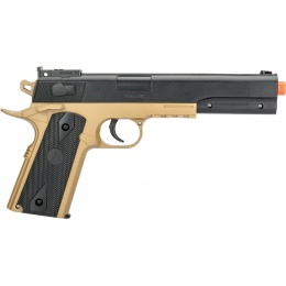 Colt Airsoft Spring M4 Rifle/Pistol Tactical Combo - BLACK / TAN