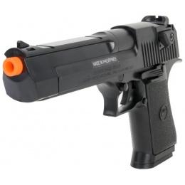 Cybergun ABS Plastic Desert Eagle Spring Airsoft Pistol - BLACK