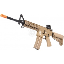 G&G Airsoft Combat Machine M4 Raider AEG Rifle - TAN