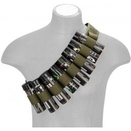 Enola Gaye Airsoft Smoke Grenade Hang Ten Belt - OD GREEN