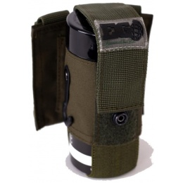 Enola Gaye EG18 Airsoft Single Grenade MOLLE Smoke Pouch - GREEN