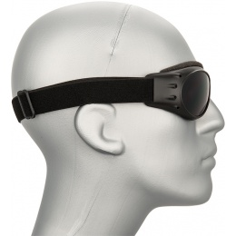 Bobster Airsoft Anti-Fog Cruiser Goggles - MATTE BLACK
