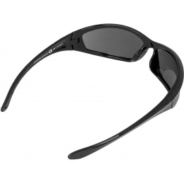 Bobster Airsoft Anti-Fog Charger Smoked Sunglasses - BLACK