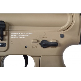 G&G Combat Machine M4A1 Carbine Airsoft AEG Rifle - Desert TAN