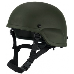 Lancer Tactical Airsoft CA-839G ACH 2000 Helmet - OD GREEN