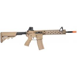 G&G Airsoft EBB GR15 Raider-XL Full Metal Gearbox AEG Rifle  - TAN