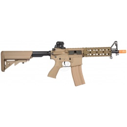 G&G Blowback GR15 EBB Raider Airsoft AEG Rifle - TAN
