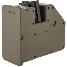 Krytac Airsoft High Capacity AEG LMG 3500rd Box Magazine